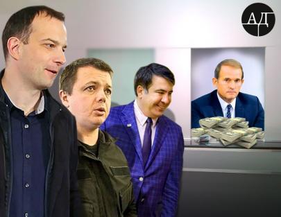 След Медведчука в аресте Саакашвили и отставке Соболева