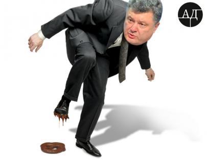 """Во что """"вступил"""" Порошенко"""